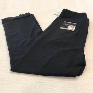 Men's geoffrey beene black dress pants size 40x32